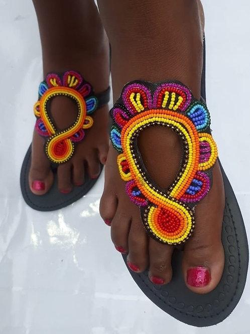 Sandales africaines kenyanes