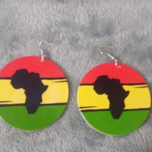Boucle d'Oreille Afrique
