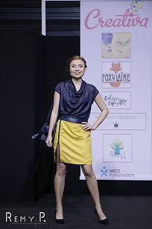 Kalinca Mathis Troisième Dauphine Miss Elegance Vosges 2019