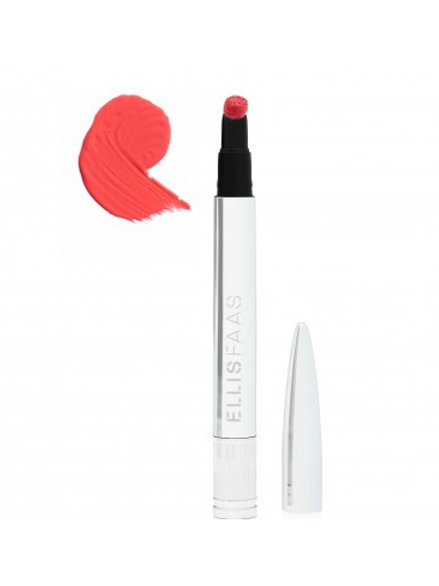 ELLIS FAAS Rouge à lèvres - Hot lips Bright Coral L405