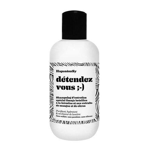 Shampoing d'entretien kératine 'détendez vous :-)'