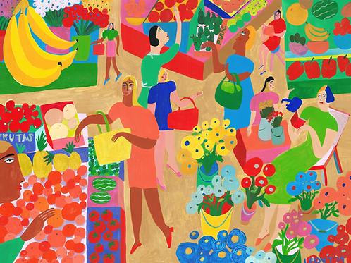 Market Colors >> Original >> 60 x 80 cm