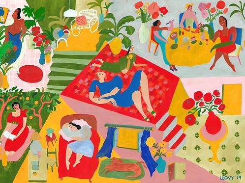 Days at home >> Original >> 60 x 80 cm