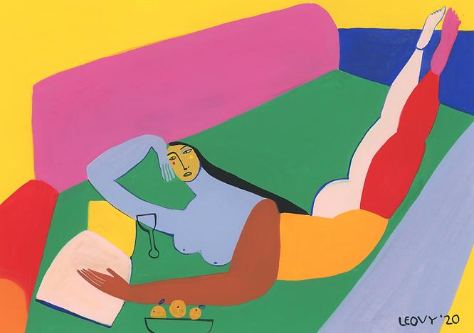 fauvism, figurative art, bold color, artista mexicana, leovy, matisse, picasso, arte contemporaneo