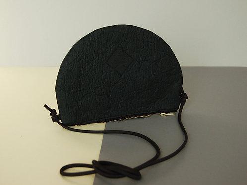 """Handtasche """"Moonbag"""", compact, Piñatex™ charcoal"""