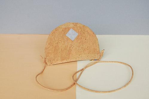 "Handtasche ""Moonbag"", compact, camel"
