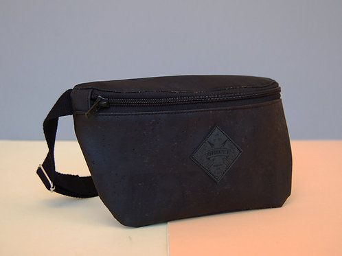 "Hipbag ""Nori"", all black"