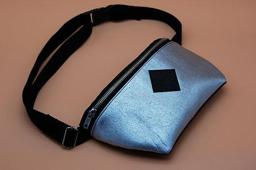 "Hipbag ""Nori"", black-silver"