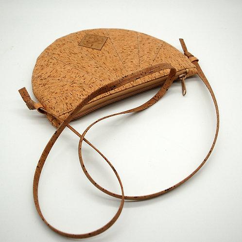 """Handtasche """"Moonbag"""", compact, Patchwork, natur Kästchen, mit Innentasche"""