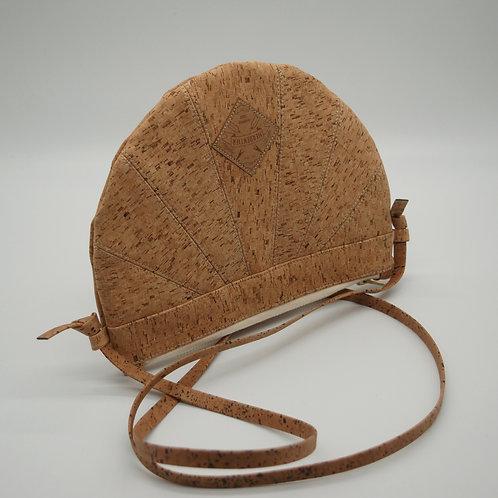 "Unikat Handtasche ""Moonbag"", compact, Patchwork, naturKästchen"