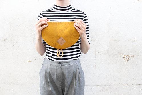 """Handtasche """"Moonbag"""", compact, curcuma"""