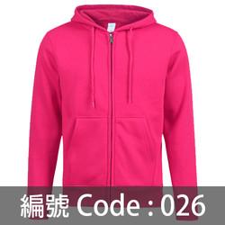 訂做拉鍊衛衣 ZJ004 026