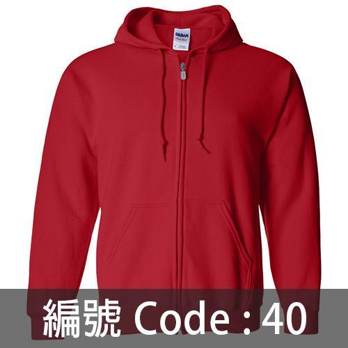 印拉鍊衛衣 ZJ005 40C