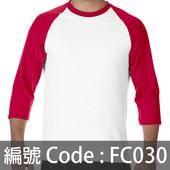印衫七分袖TEE FC030