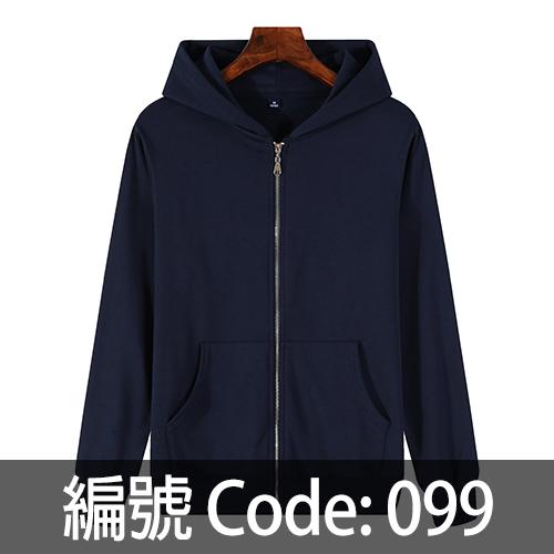 印拉鍊衛衣 ZJ006 099