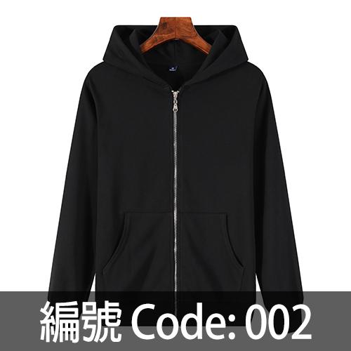 印拉鍊衛衣 ZJ006 002