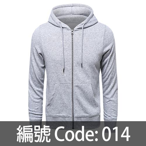 印拉鍊衛衣 ZJ007 014