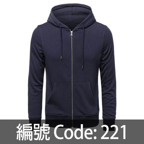 印拉鍊衛衣 ZJ007 221