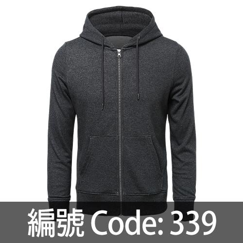 印拉鍊衛衣 ZJ007 339