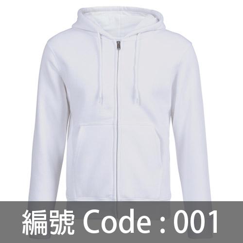 訂做拉鍊衛衣 ZJ004 001