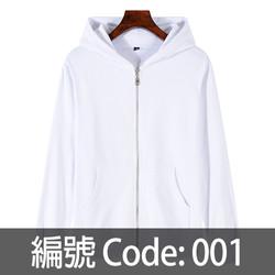 印拉鍊衛衣 ZJ006 001