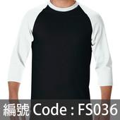 印衫七分袖TEE FS036