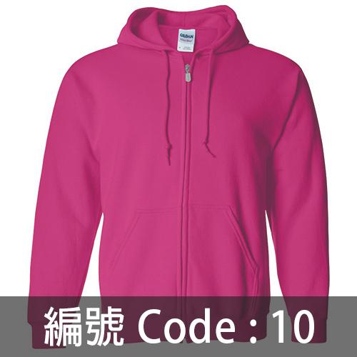 印拉鍊衛衣 ZJ005 10C
