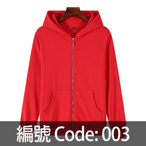 印拉鍊衛衣 ZJ006 003