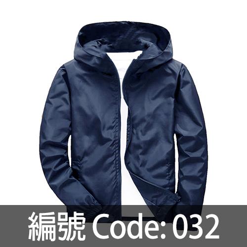 深藍色風衣 WJ005 032