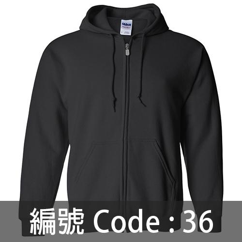 印拉鍊衛衣 ZJ005 36C