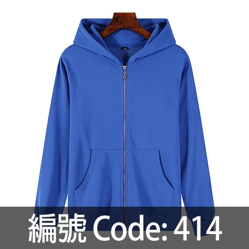 印拉鍊衛衣 ZJ006 414
