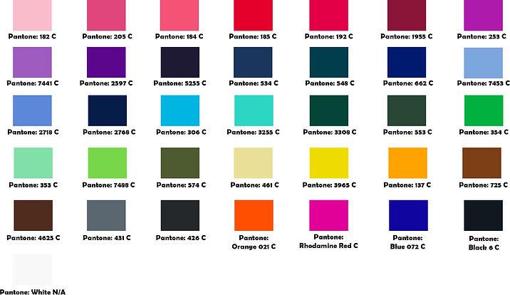 印Tee 顏色選擇