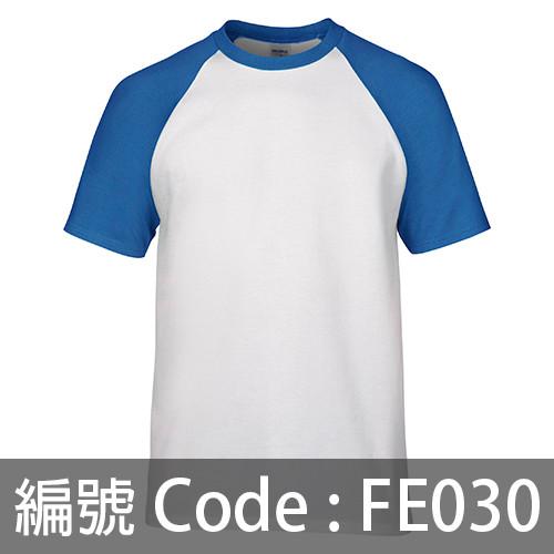 印衫 牛角袖TEE FE030
