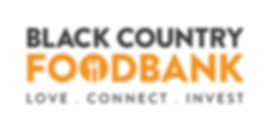 Black Country Food Bank Logo with Strapl