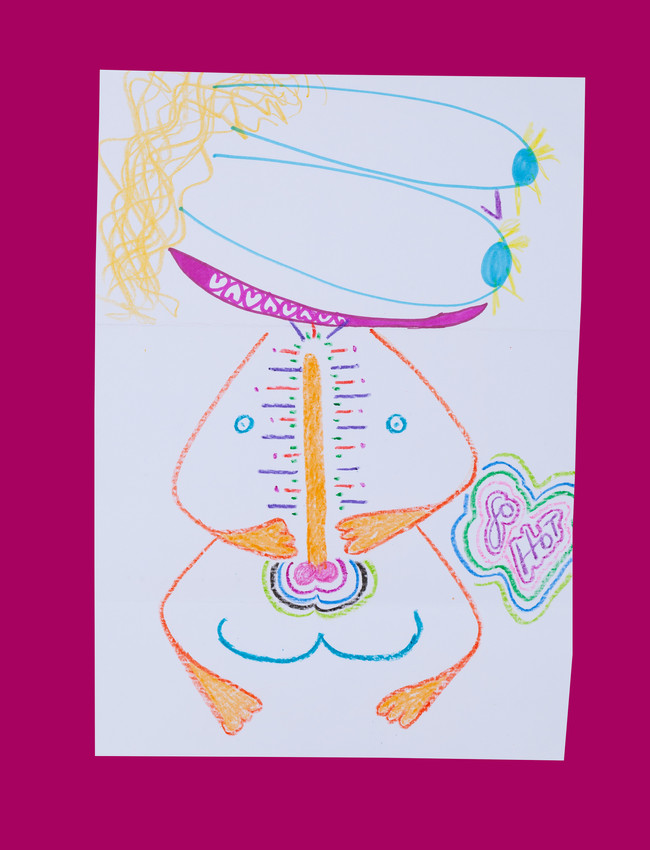 Exquisite corpse number 29 - 'Lover' (Diogo Duarte + Jessica Mitchell)