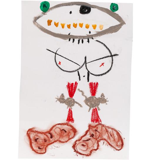 Exquisite corpse number 6 - 'Villain' (Diogo Duarte + Jessica Mitchell)