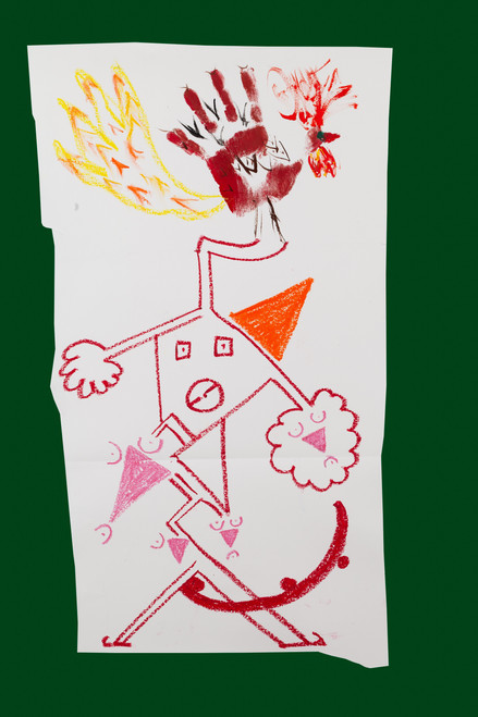 Exquisite corpse number 21 - 'Fool' (Diogo Duarte + Jessica Mitchell)
