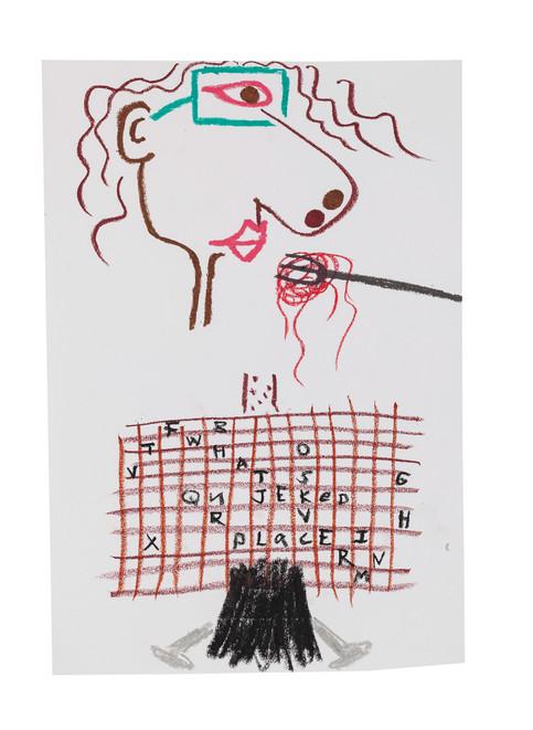 Exquisite corpse number 50 - 'Villain' (Diogo Duarte + Jessica Mitchell)