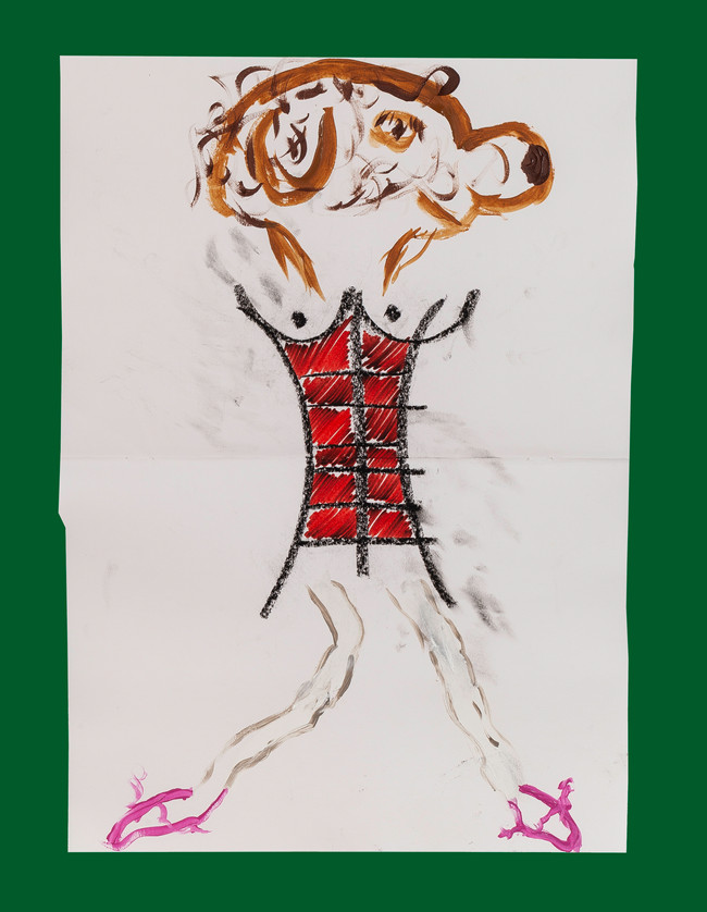 Exquisite corpse number 7 - 'Fool' (Diogo Duarte + Jessica Mitchell)