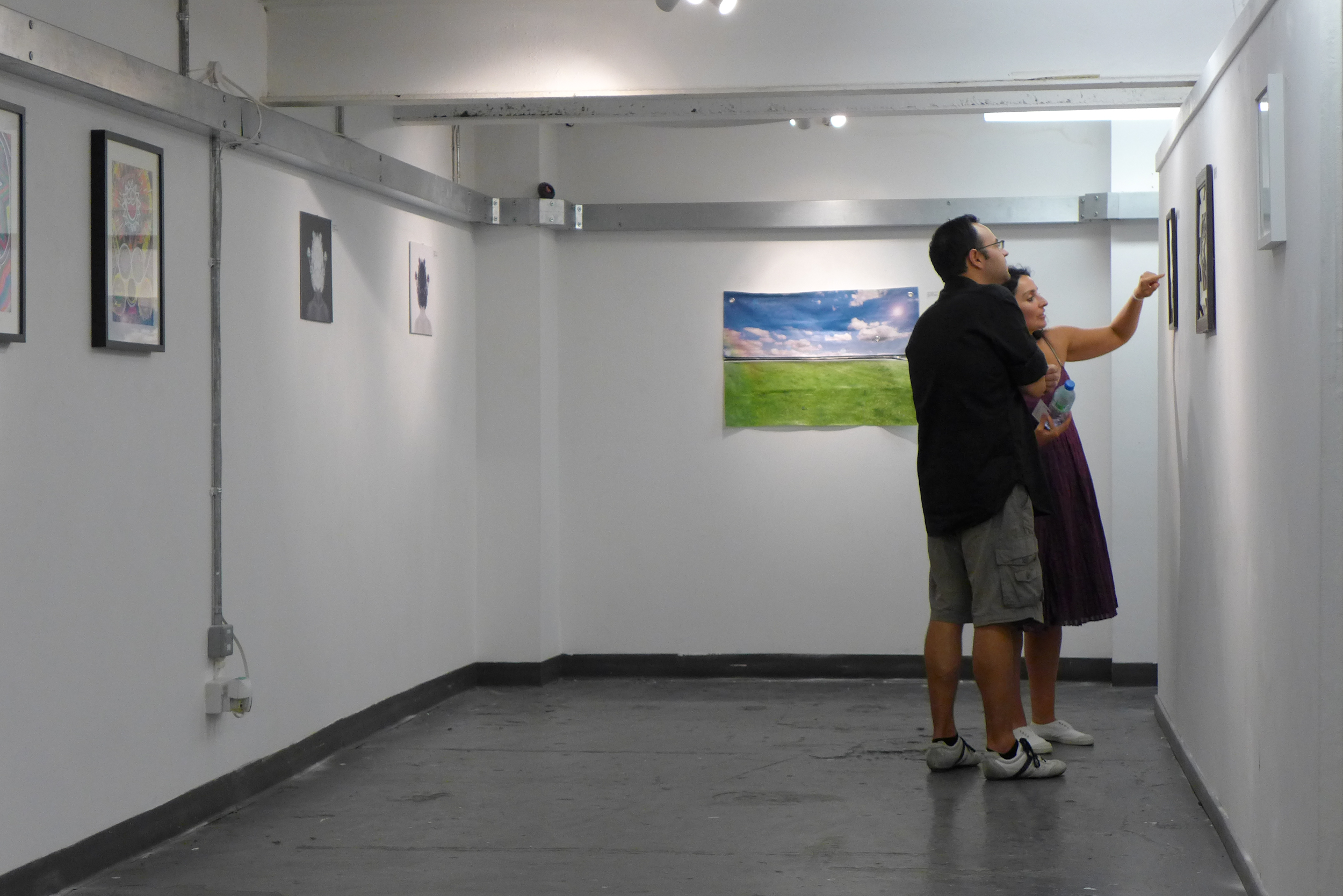 Point of view at Vibe Gallery