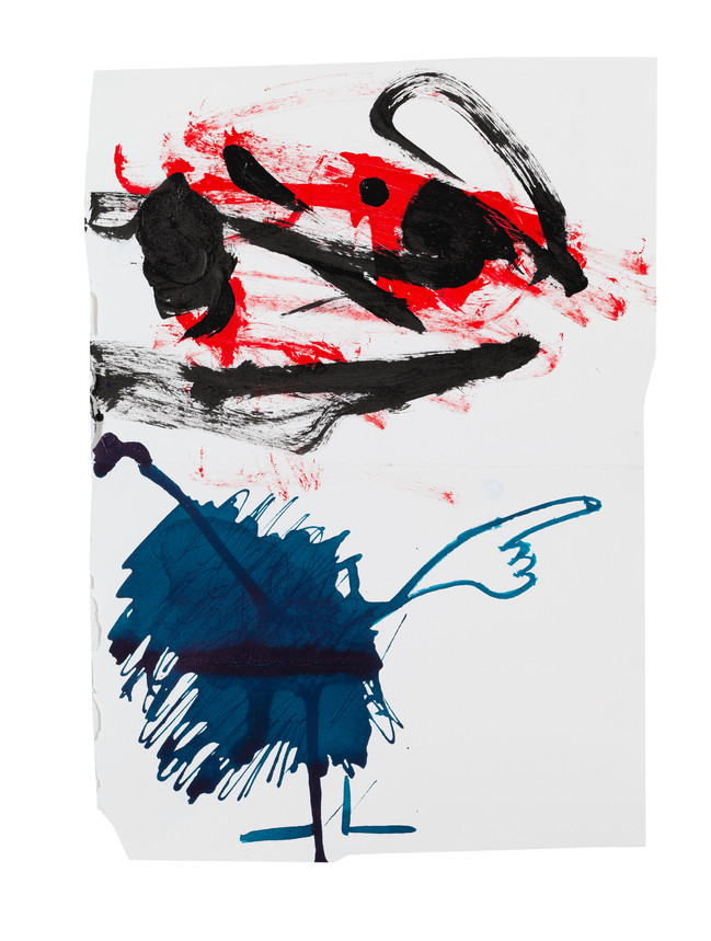 Exquisite corpse number 14 - 'Villain' (Diogo Duarte + Jessica Mitchell)