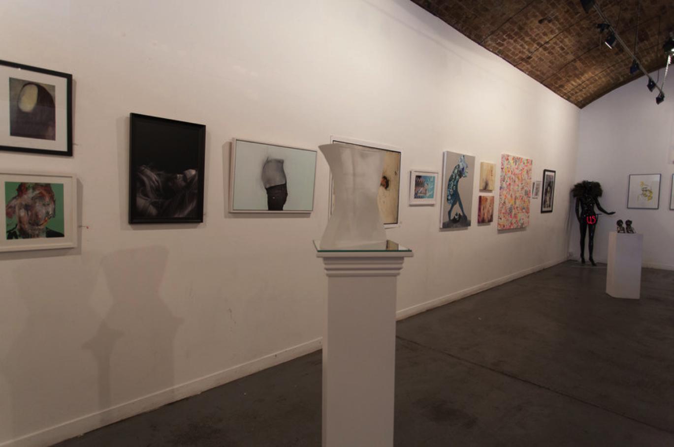 Seams Exhibition at Hoxton Arches