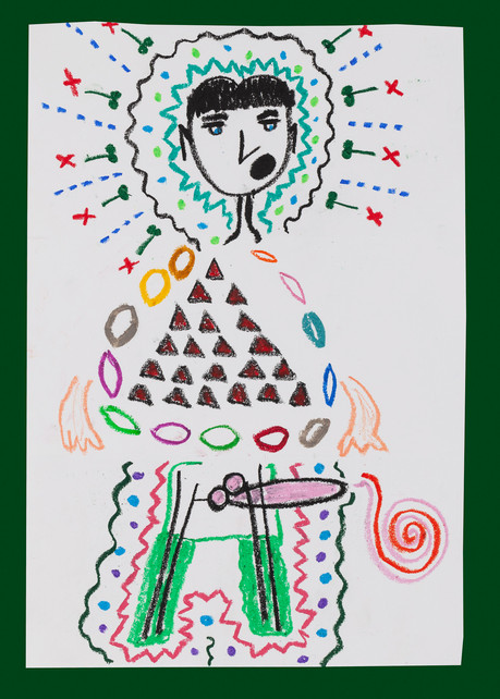 Exquisite corpse number 48 - 'Fool' (Diogo Duarte + Jessica Mitchell)