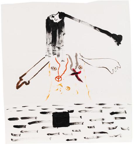 Exquisite corpse number 9 - 'Villain' (Diogo Duarte + Jessica Mitchell)