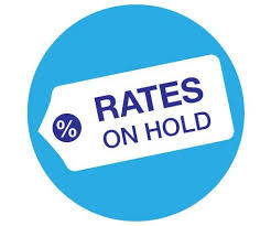 Rates on hold again
