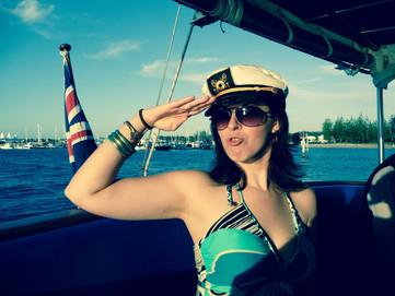 Sailing with Jenayla