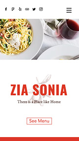 Restaurants & Essen website templates – Italian Cuisine