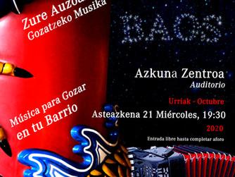 MÚSICA PARA GOZAR EN TU BARRIO 2020 - Azkuna Zentroa
