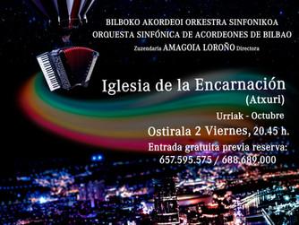 Concierto Bilbao Udazkena 2020