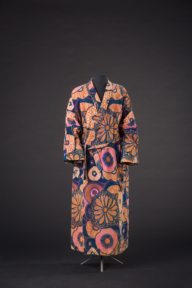 Paul Poiret chamber coat 1923